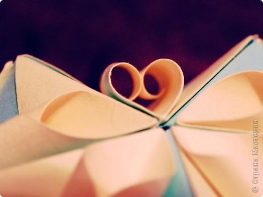 """Кусудама ... я ее назвала """"Сердечный завиток"""" фото 2"""