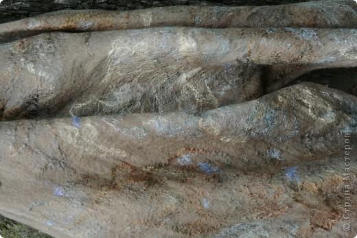 шарфик из шерсти и шелковых волокон фото 4
