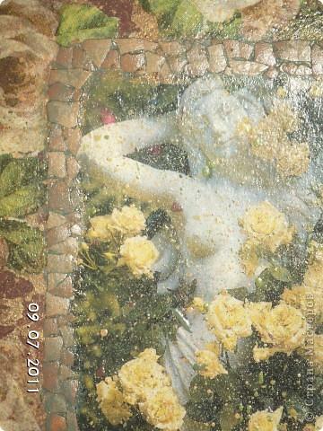 дева с розами фото 2
