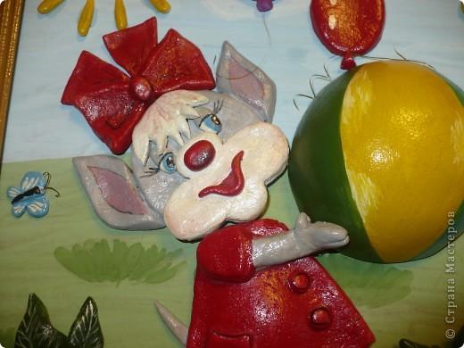 Сделала в садик дочуре. Кто это даже незнаю, наверное мышка. фото 2