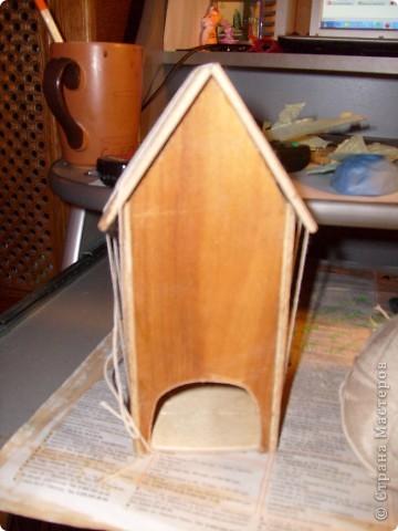 Давно хотела себе чайный домик и вот решилась, делала его полностью сама)) фото 3