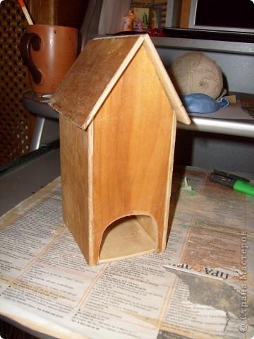 Давно хотела себе чайный домик и вот решилась, делала его полностью сама)) фото 5