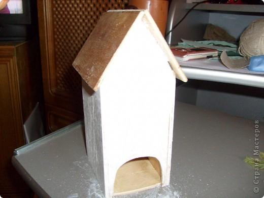 Давно хотела себе чайный домик и вот решилась, делала его полностью сама)) фото 8