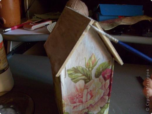 Давно хотела себе чайный домик и вот решилась, делала его полностью сама)) фото 10