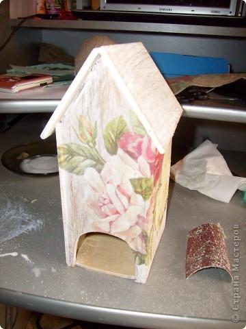 Давно хотела себе чайный домик и вот решилась, делала его полностью сама)) фото 11