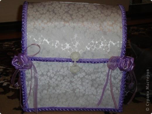 Коробка для открыток на свадьбу (или как еще ее называют казна=))