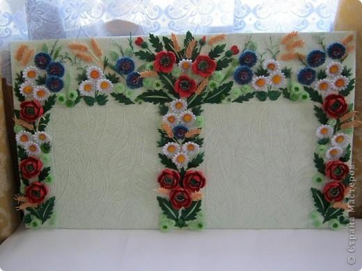 Такой букетик сложился из цветов, которые остались от большей работы, которая ниже. фото 4