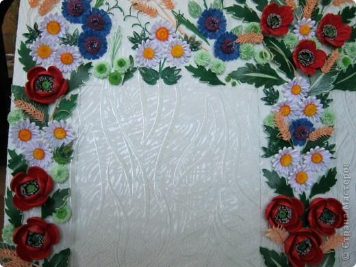 Такой букетик сложился из цветов, которые остались от большей работы, которая ниже. фото 5