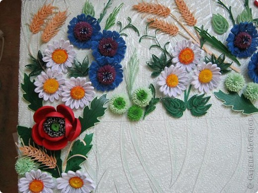 Такой букетик сложился из цветов, которые остались от большей работы, которая ниже. фото 9