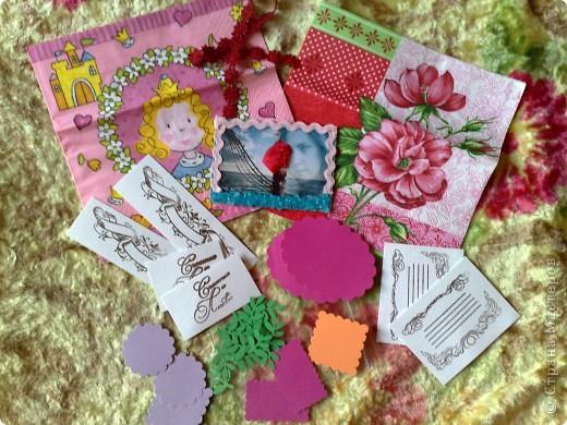 Сегодня получила 3-и письма, одно из них было из Сюрпризом))))от Светочки (Филюши), столько подарочков и всё красиво упаковано,СПАСИБО!!! фото 2