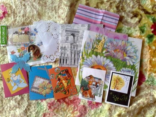 Сегодня получила 3-и письма, одно из них было из Сюрпризом))))от Светочки (Филюши), столько подарочков и всё красиво упаковано,СПАСИБО!!! фото 3