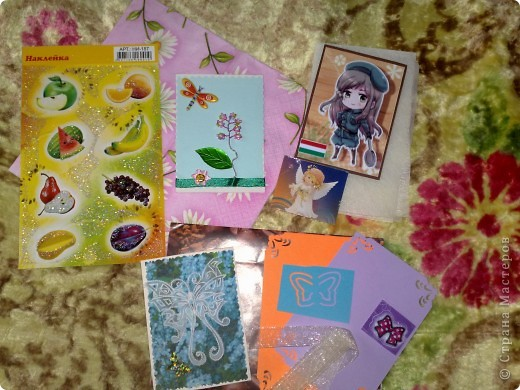 Сегодня получила 3-и письма, одно из них было из Сюрпризом))))от Светочки (Филюши), столько подарочков и всё красиво упаковано,СПАСИБО!!! фото 6