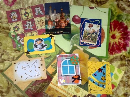 Сегодня получила 3-и письма, одно из них было из Сюрпризом))))от Светочки (Филюши), столько подарочков и всё красиво упаковано,СПАСИБО!!! фото 7