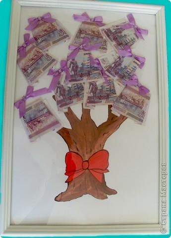 Денежное дерево на день рождения своими руками