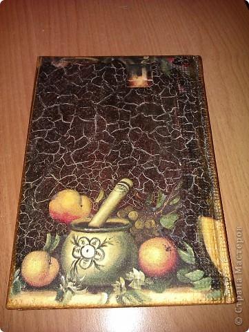 Обложки для паспорта не нашлось, попался под руку ежедневник. фото 3