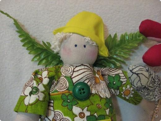 Здравствуйте, мои хорошие!!!!  Сегодня я вас хочу познакомить с Тильдо-садовым Ангелом.   Посмотрите----- фото 2