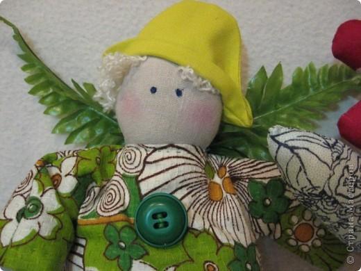 Здравствуйте, мои хорошие!!!!  Сегодня я вас хочу познакомить с Тильдо-садовым Ангелом.   Посмотрите----- фото 6