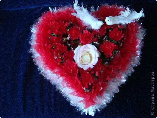 Вот такой сердечный подарок приготовила ко дню свадьбы. фото 1