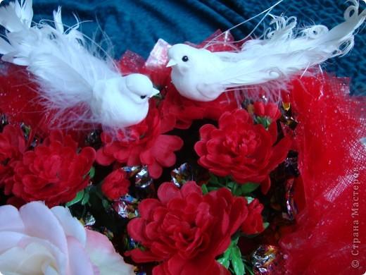 Вот такой сердечный подарок приготовила ко дню свадьбы. фото 5