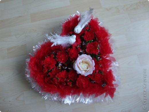 Вот такой сердечный подарок приготовила ко дню свадьбы. фото 4