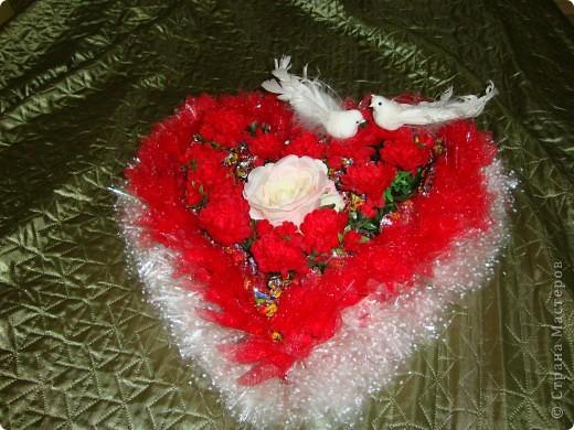 Вот такой сердечный подарок приготовила ко дню свадьбы. фото 3