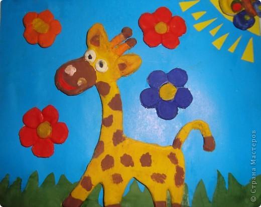 Мой любимый жирафик...Не покрытый ещё лаком. Просто ещё не хватило времени. фото 1