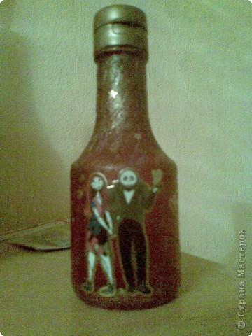 бутылочка для соуса... хелоуинская вышла! фото 2
