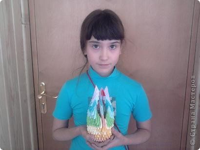 Работала в лагере , вела кружок оригами. Вот такие поделки у нас получились! Огромное спасибо всем кто создает свои МК, они очень помогают в работе!!! фото 10