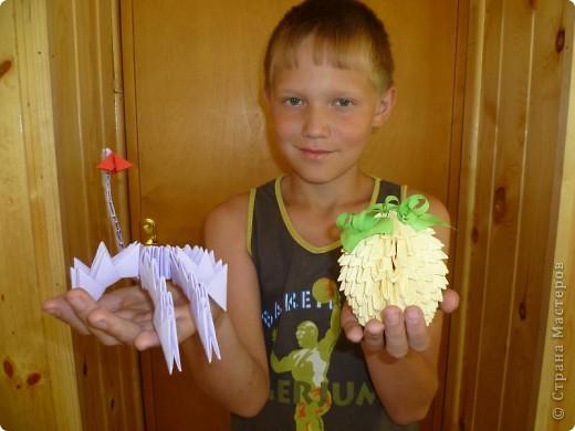 Работала в лагере , вела кружок оригами. Вот такие поделки у нас получились! Огромное спасибо всем кто создает свои МК, они очень помогают в работе!!! фото 4