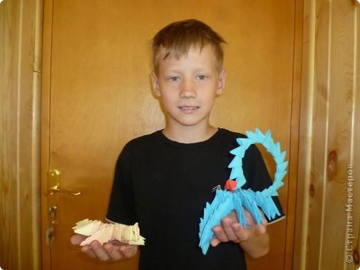 Работала в лагере , вела кружок оригами. Вот такие поделки у нас получились! Огромное спасибо всем кто создает свои МК, они очень помогают в работе!!! фото 5