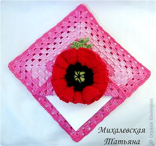 Вот такую салфетницу связала для доченьки ))))))) фото 1
