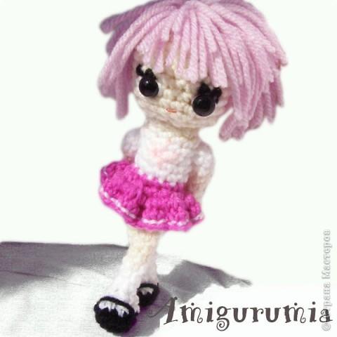 Амигуруми куколка аниме Mika