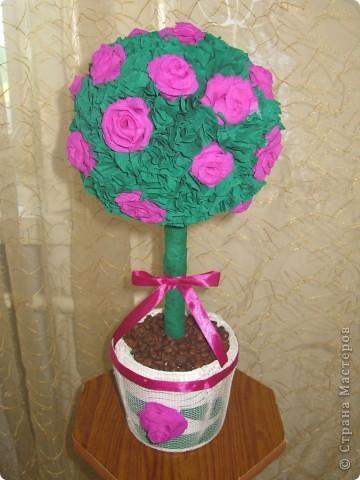 Очень веселый букетик из сотни цветов. Прекрасный элемент декора вашего дома или офиса.Всё сделано из бумаги. фото 2