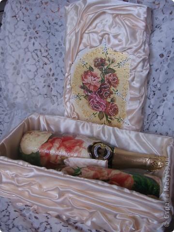 свадебный набор. первая работа... фото 4