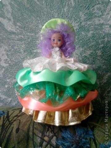 Вот такая кукла-шкатулка у меня получилась по вашим мастер-классам Дорогие мастерицы! фото 1