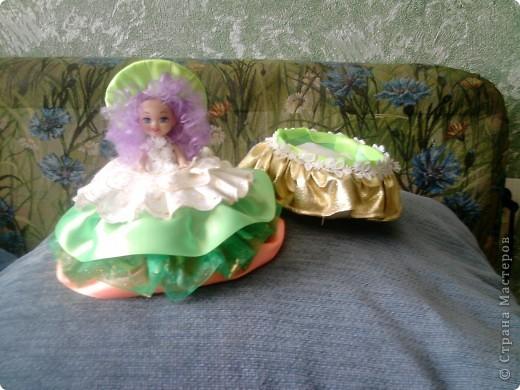 Вот такая кукла-шкатулка у меня получилась по вашим мастер-классам Дорогие мастерицы! фото 11