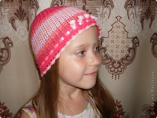 Шапочки для моих дочурок фото 2