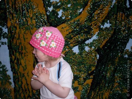 Шапочки для моих дочурок фото 8
