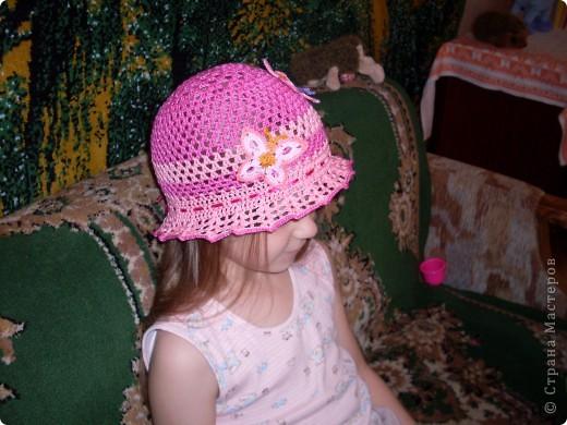 Шапочки для моих дочурок фото 9