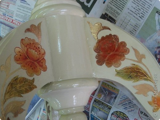 на самом деле это была реставрация трухлявого стола, с толстым, облупленным слоем краски.. фото 4