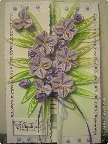 Эту открытку делала на свадьбу подруги фото 12