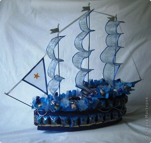 """Корабль  """"Синяя Звезда"""" отправляется в далекое плаванье. фото 2"""