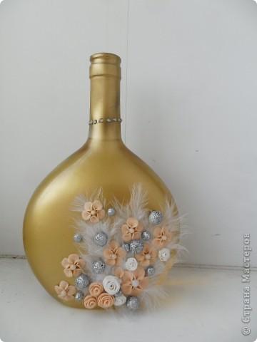 декор бутылки фото 1