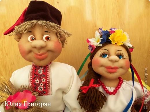 Парочка в украинском национальном костюме фото 2