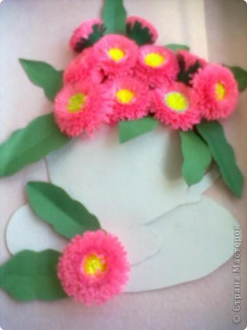 Повторила маргаритки Натальи Беленко, они у неё такие красивые получились. фото 2