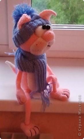 Розовый кот от Elena Gunger фото 2