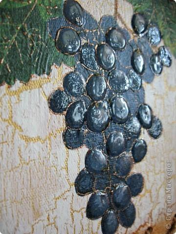 """Панно на кухню """"Оливки и виноград"""" фото 4"""