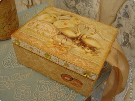 Декор предметов Свадьба Декупаж Золотая пара -подарок к Золотой свадьбе родителей Салфетки фото 4