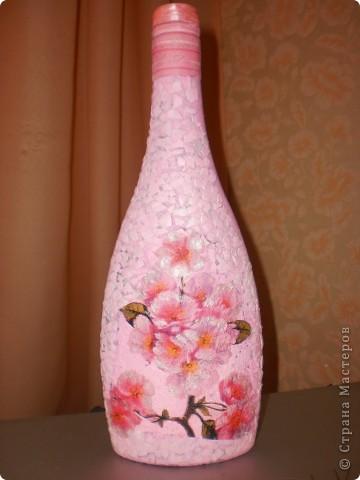 """Бутылочка """"Яблоневый цвет"""""""