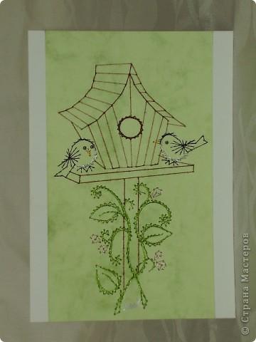 """карты """"хлеб-соли"""" (изготовление на заказ) - tikitud kaardid, niidigraafika фото 3"""